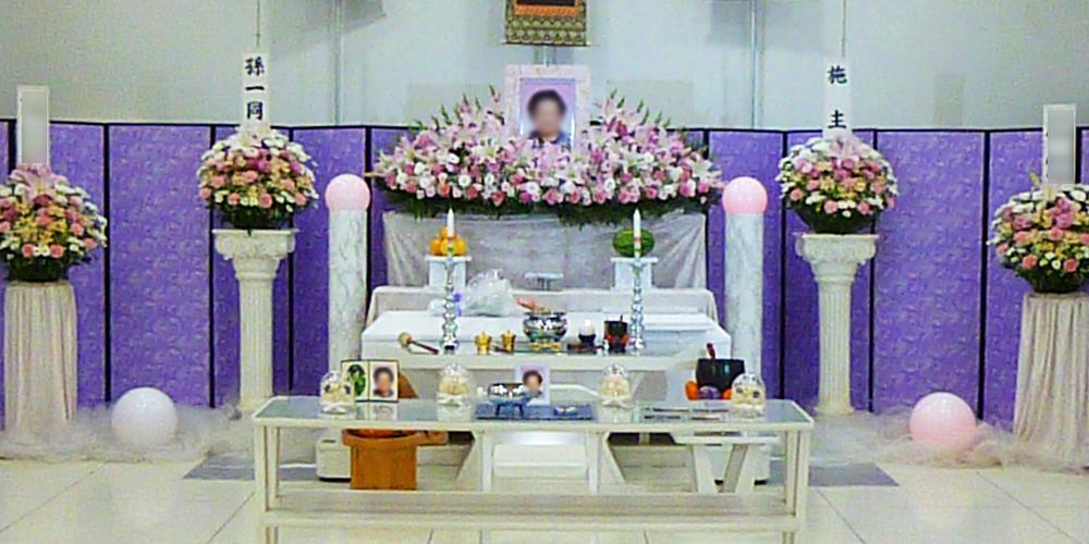 家族葬350,000円